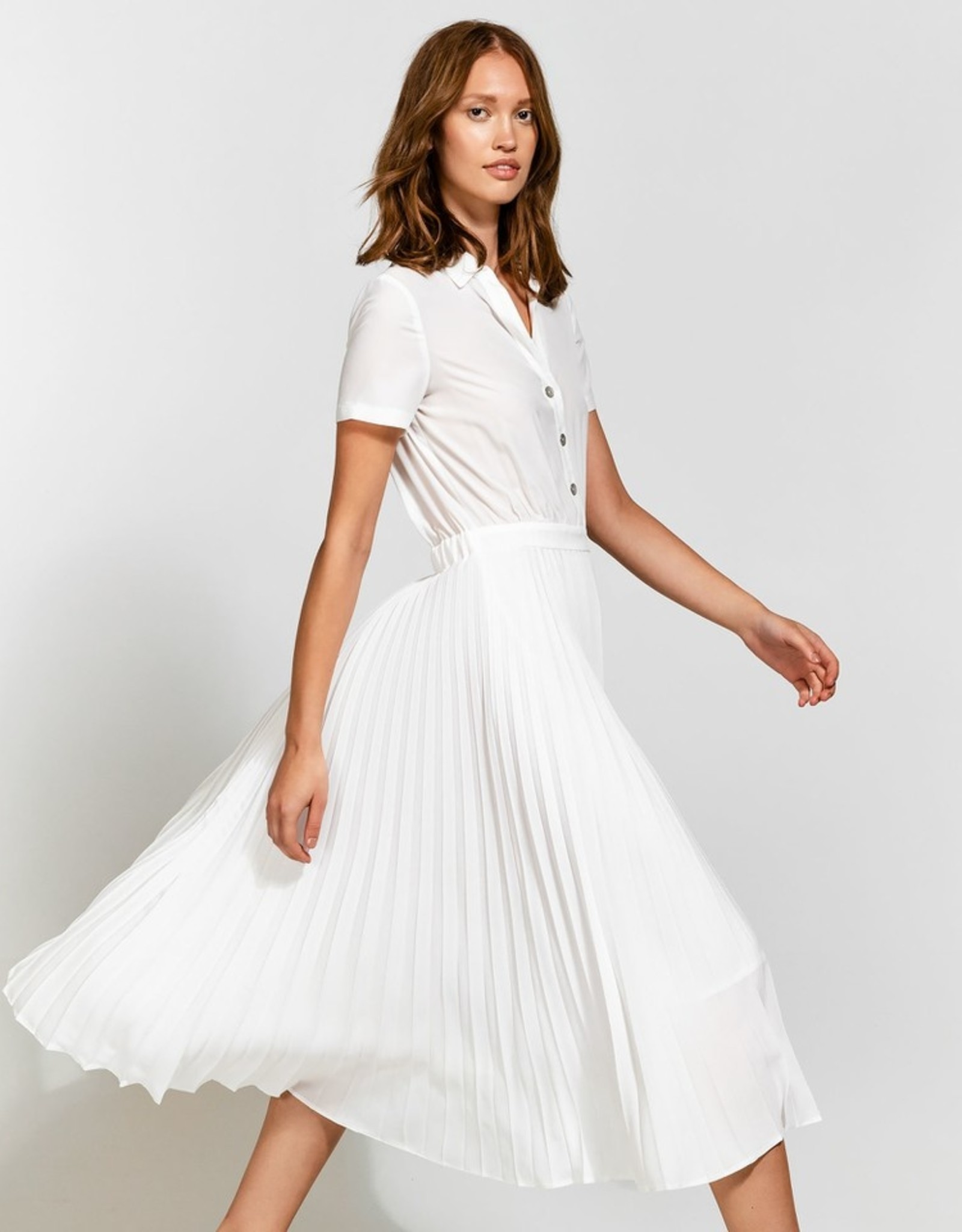 Dames Fashion Witte jurk
