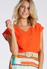 Dames Fashion Rode T-shirt