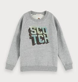 Scotch & Soda SHRUNK Grijze Scotch Sweater