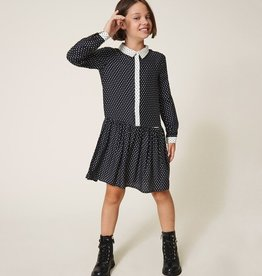 Twinset Star Shirt Dress