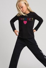 "Twinset T-shirt met ""Twinset"" logo"