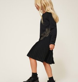 Twinset Pleats and Lace jurk