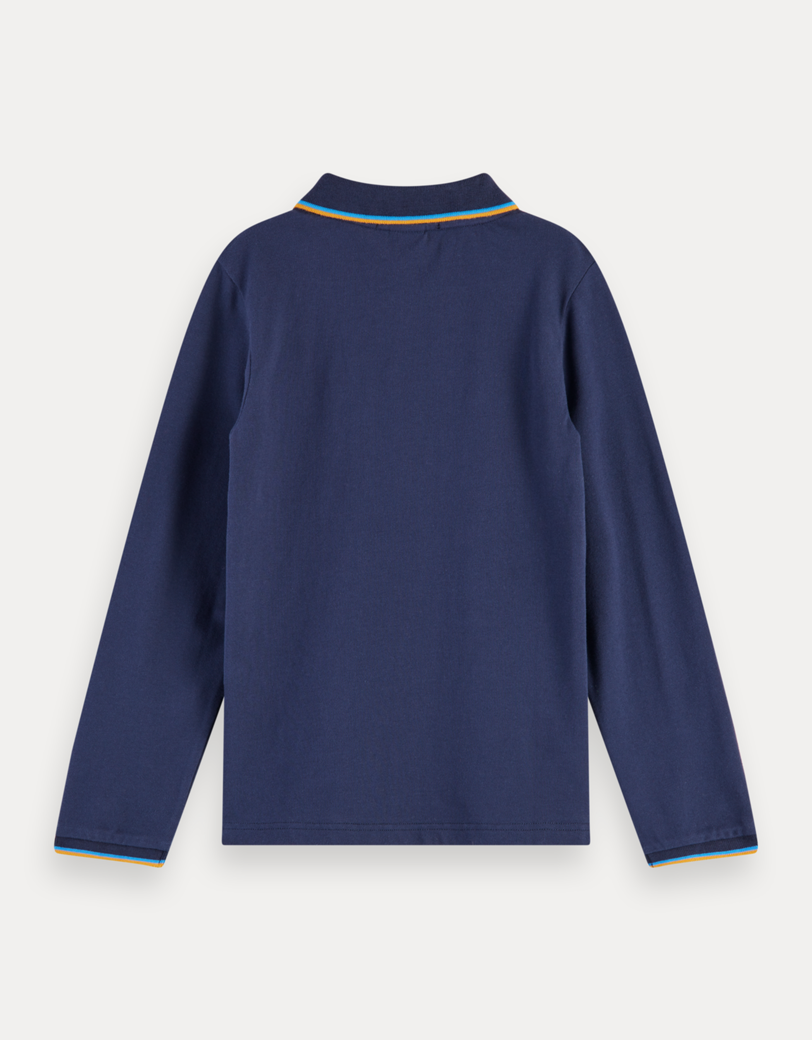 Scotch & Soda SHRUNK Polo met lange mouw