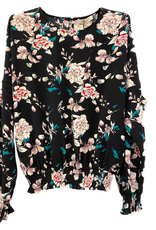 Dames Fashion Blouse met bloemenprint