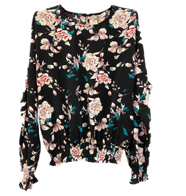 Dames Fashion Blouse met bloemenprint