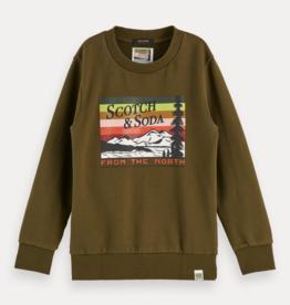 Scotch & Soda SHRUNK Sweater met print