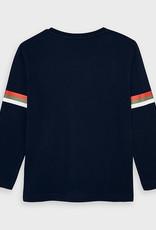 Mayoral Donkerblauwe t-shirt met lange mouw