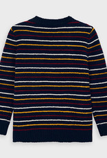 Mayoral Donkerblauwe strepen trui