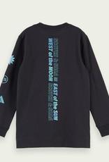 Scotch & Soda SHRUNK Donkerblauwe t-shirt Scotch