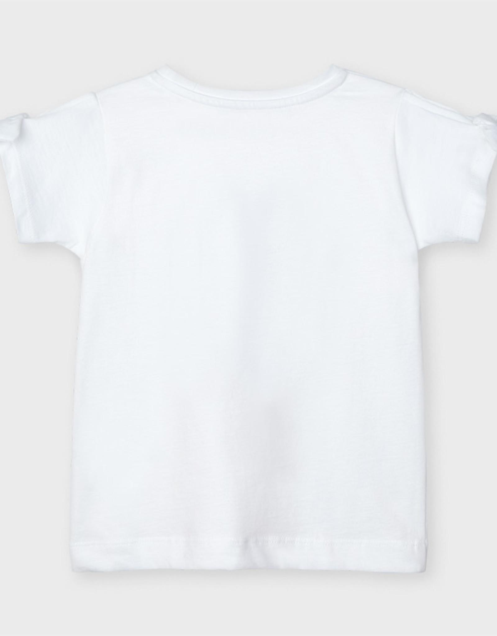 Mayoral Witte ecofriends t-shirt