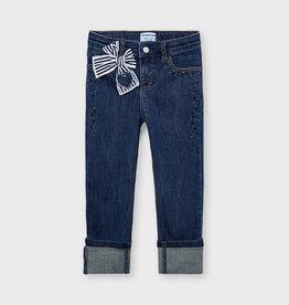Mayoral Jeans met strik