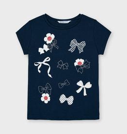 Mayoral Donkerblauwe ecofriends t-shirt