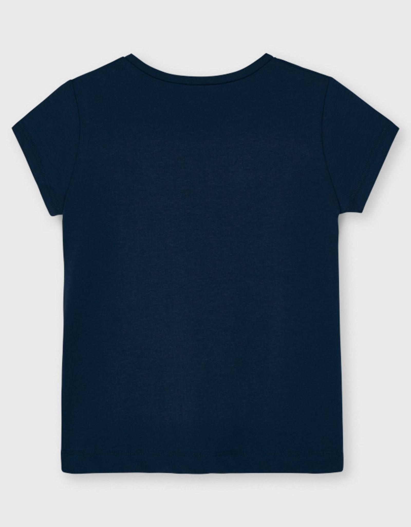 Mayoral Dpnkerblauwe ecofriends t-shirt