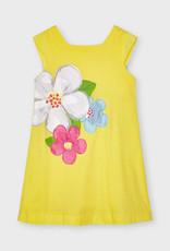 Mayoral Gele bloemenjurk