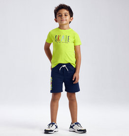 Mayoral Skate t-shirt en short (set)