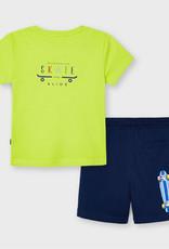 Mayoral Skate t-shirt en short (set)