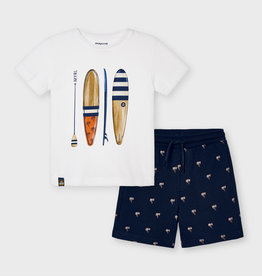 Mayoral Surf short en t-shirt (set)