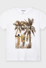 Mayoral Ecofriends witte t-shirt