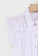 LIU JO wit hemd zonder mouwen
