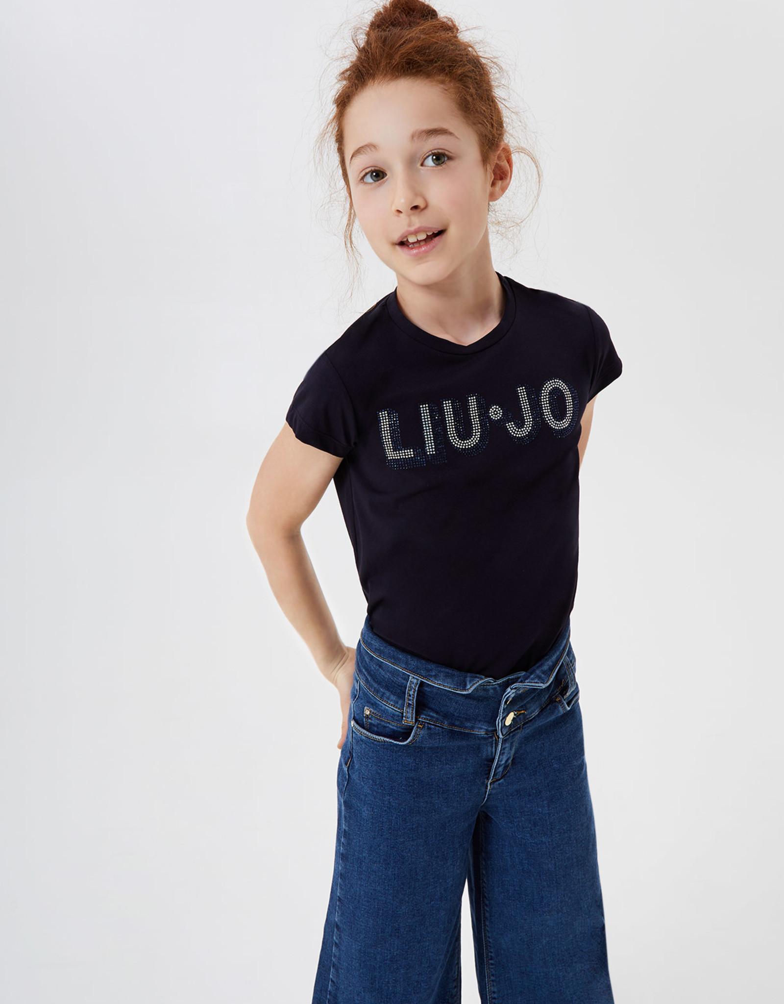 LIU JO T-shirt Liu Jo met strass steentjes