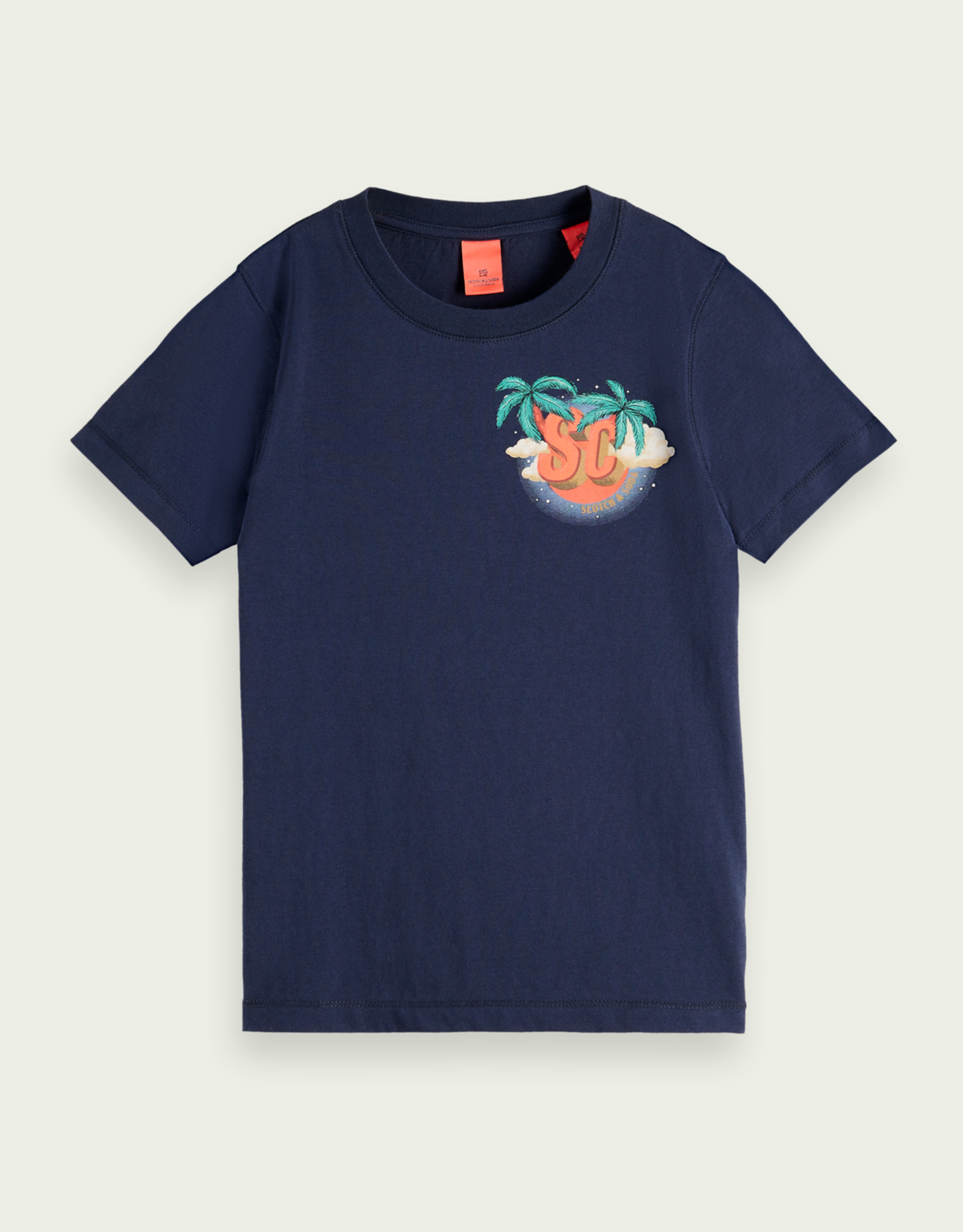 Scotch & Soda SHRUNK T-shirt van biologisch katoen