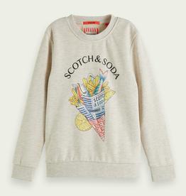 Scotch & Soda SHRUNK Fish and Chips sweater