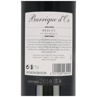 2018 Barrique d'Or Merlot