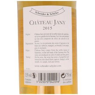 2015 Château Jany Sauternes