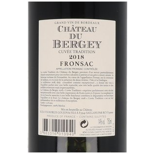 2018 Château du Bergey Fronsac