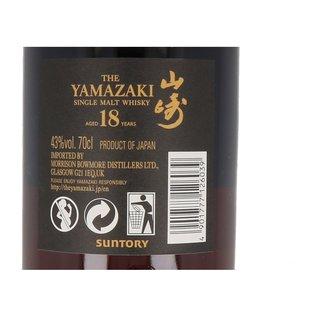 Suntory Whisky Yamazaki 18 Years
