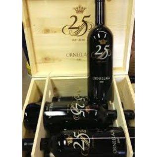 Ornellaia 2010 Tenuta dell' Ornellaia 25 years Anniversary