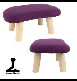 Meditatiebankje hout violet