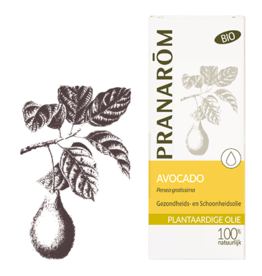 Avocado olie - Persea gratissima BIO 50 ml pranarom