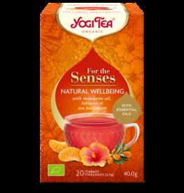 Natural Wellbeing - For The Senses - Yogi tea