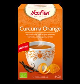 Curcuma Orange Yogi tea