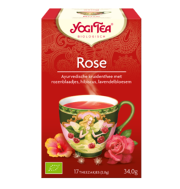 Rose Yogi tea
