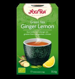 Ginger Lemon & Green Tea Yogi tea