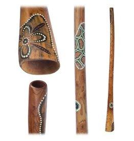 Didgeridoo Mahonie Geschilderd 150cm
