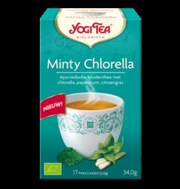 Minty Chlorella Yogi thee