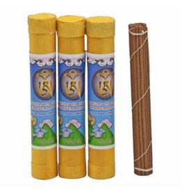 Tibetan Om Incense Spiritual Health LOVE AND COMPASSION