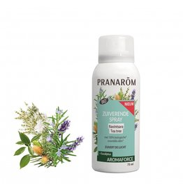 Zuiverende Spray Ravintsara-Tea tree 75 ml Pranarom