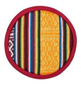 klankschaal kussen plat tribal design S