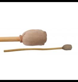 drumstok met leder