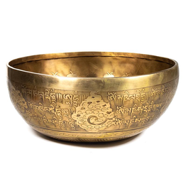 Tibet Hand Carved Bowl 13cm