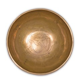 Klankschaal Ohm (gravering) 14,5cm