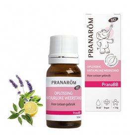 Oplossing natuurlijke weerstand 10ml PranaBB Pranarom