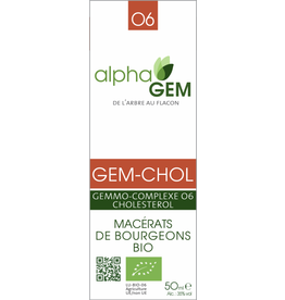 Gemmotherapie GEM-CHOL BIO 15ml, alphaGEM