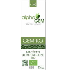 Gemmotherapie GEM-KO BIO 50ml, alphaGEM