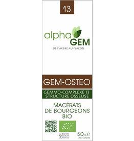 Gemmotherapie GEM-OSTEO BIO 15ml, alphaGEM