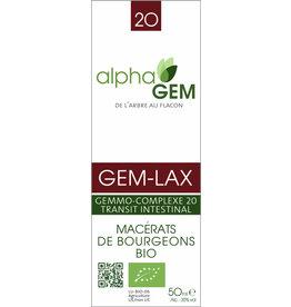 Gemmotherapie GEM-LAX BIO 15ml, alphaGEM
